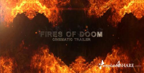 Fires Of Doom - Cinematic Trailer - After Effects Project (Videohive)