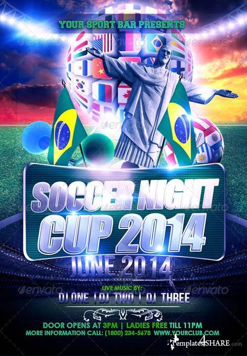 GraphicRiver Soccer Night