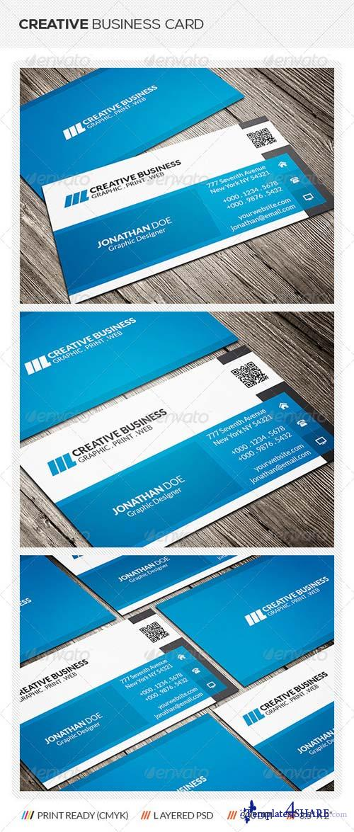 GraphicRiver Modern Corporate Business Card