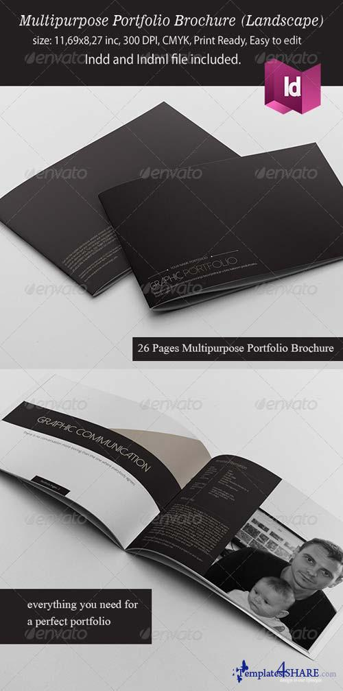 GraphicRiver Multipurpose Portfolio Brochure Landscape Version