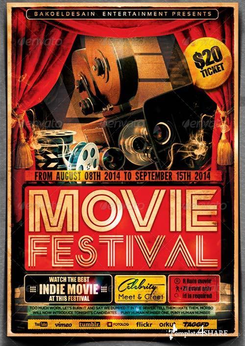GraphicRiver Movie Festival Flyer