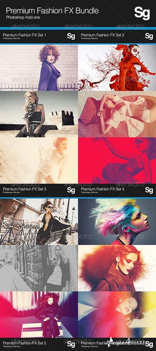 GraphicRiver Premium Fashion FX Bundle