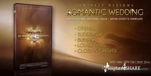 Romantic Wedding - After Effects Project (Videohive)
