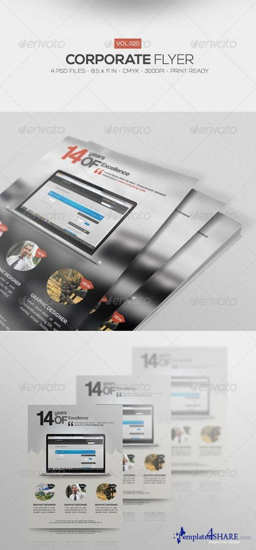GraphicRiver Corporate Flyer Vol.20