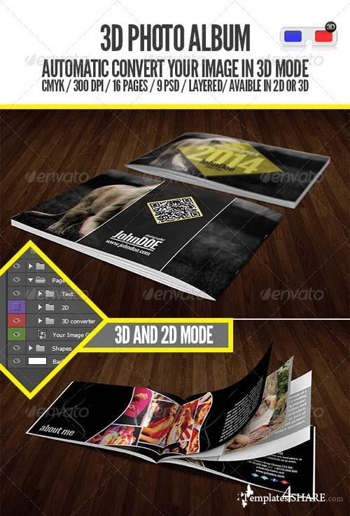GraphicRiver 3D - Photo Album