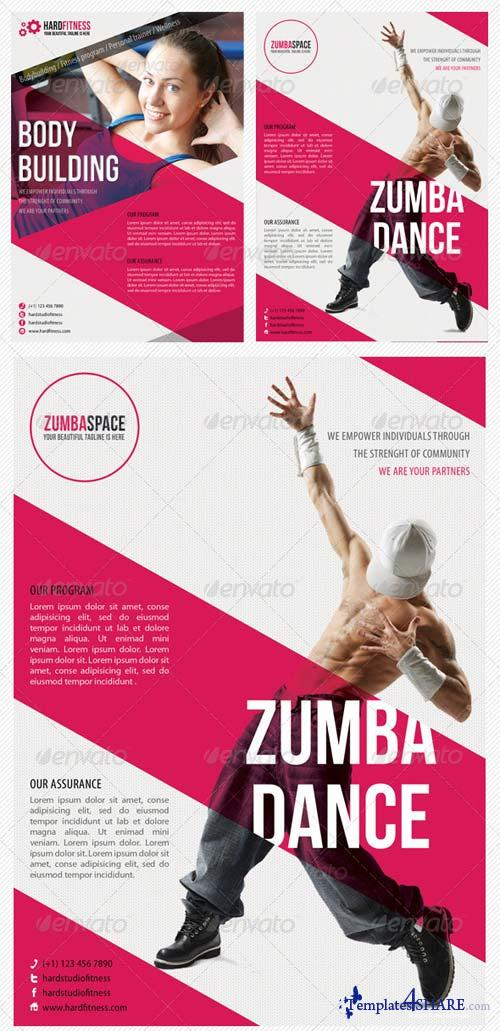 GraphicRiver Sport Multipurpose Flyer 11