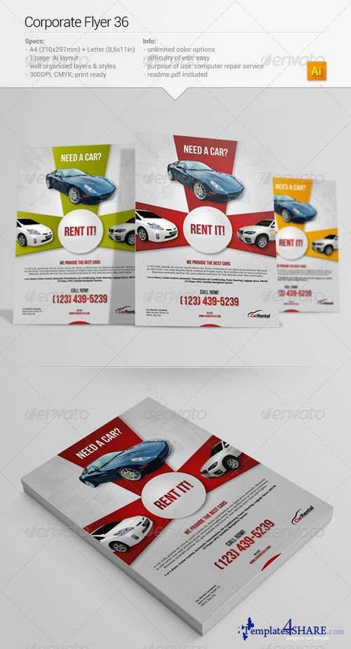 GraphicRiver Corporate Flyer 36
