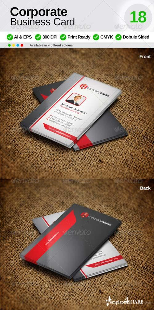 GraphicRiver Corporate Business Card 18
