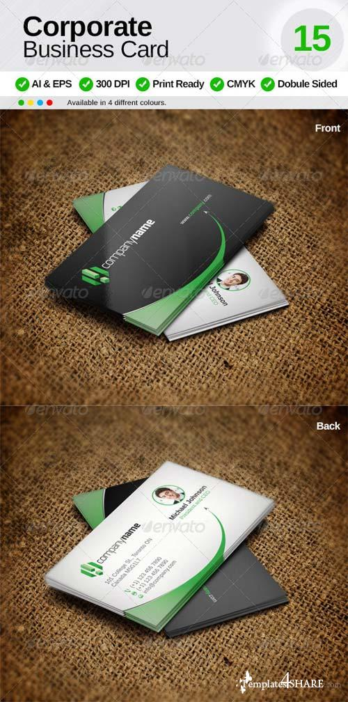 GraphicRiver Corporate Business Card 15