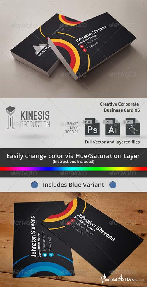 GraphicRiver Creative Corporate Business Card 06