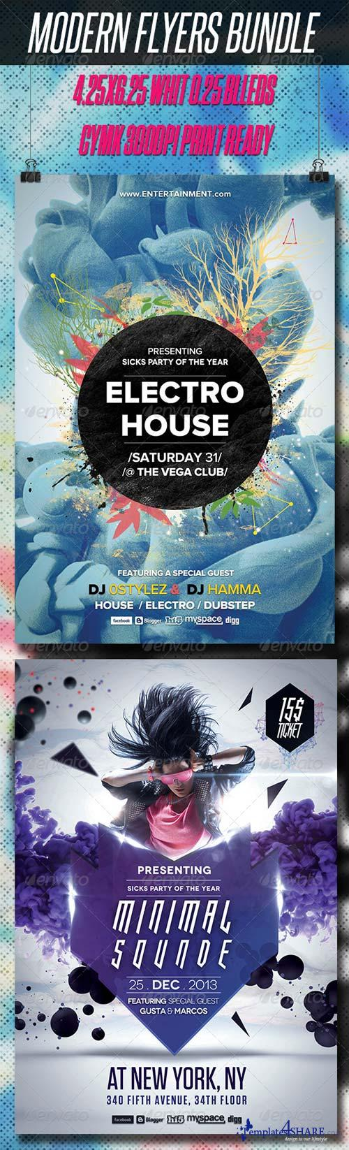 GraphicRiver Modern Flyers Bundle V3