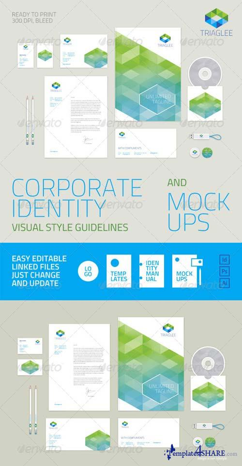 GraphicRiver Corporate Identity Guidelines and Mock-ups