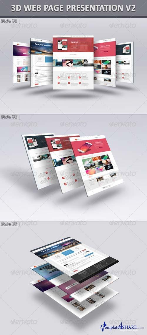 GraphicRiver 3D Web Page Presentation V2