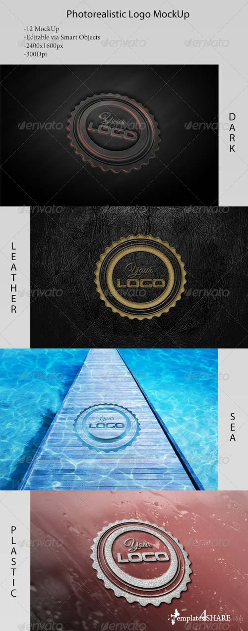 GraphicRiver Logo MockUp-Vol. 1