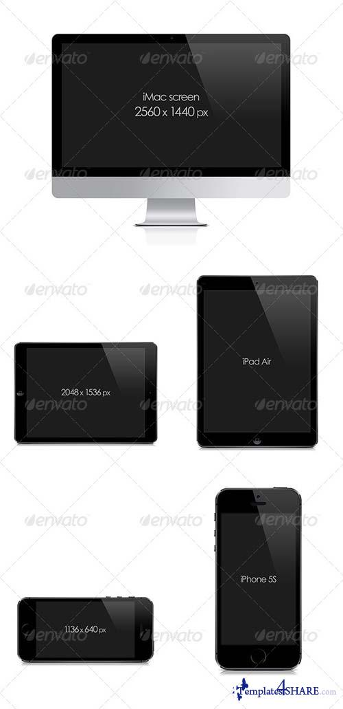 GraphicRiver Screen Mock-Ups |Showcase|