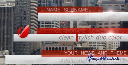 Bussines, News Lower Third Pack full HD - After Effects Project (Videohive)