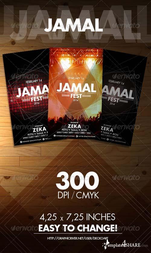 GraphicRiver Jamal Fest