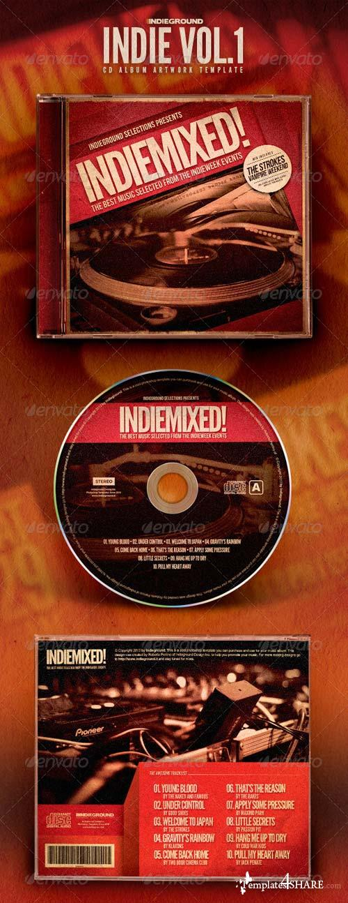 GraphicRiver Indie CD Album Artwork