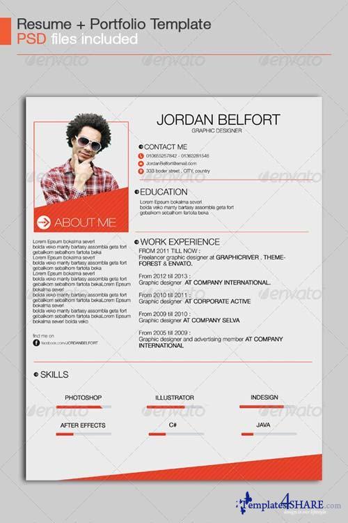 GraphicRiver Resume Template