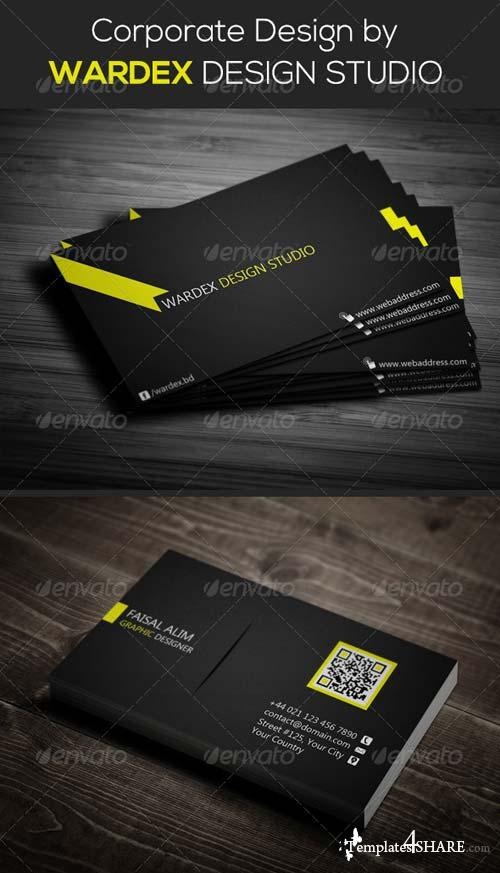 GraphicRiver Corporate & Pro Business Card Dersign