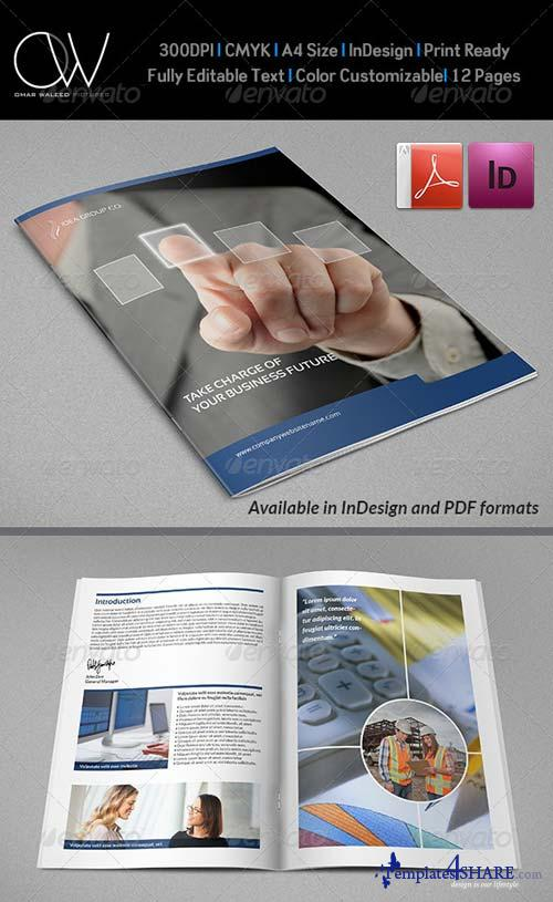 GraphicRiver Corporate Brochure Template Vol.22 - 12 Pages
