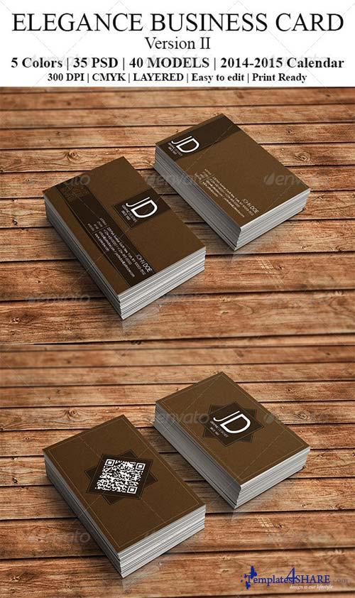 GraphicRiver Elegance Business Card