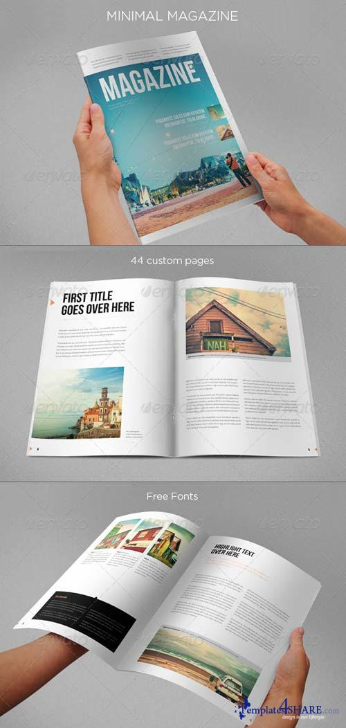 GraphicRiver Minimal Magazine