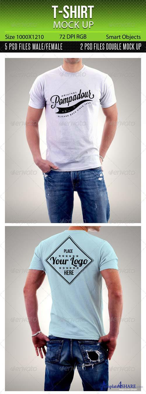GraphicRiver T-Shirt Mock Up