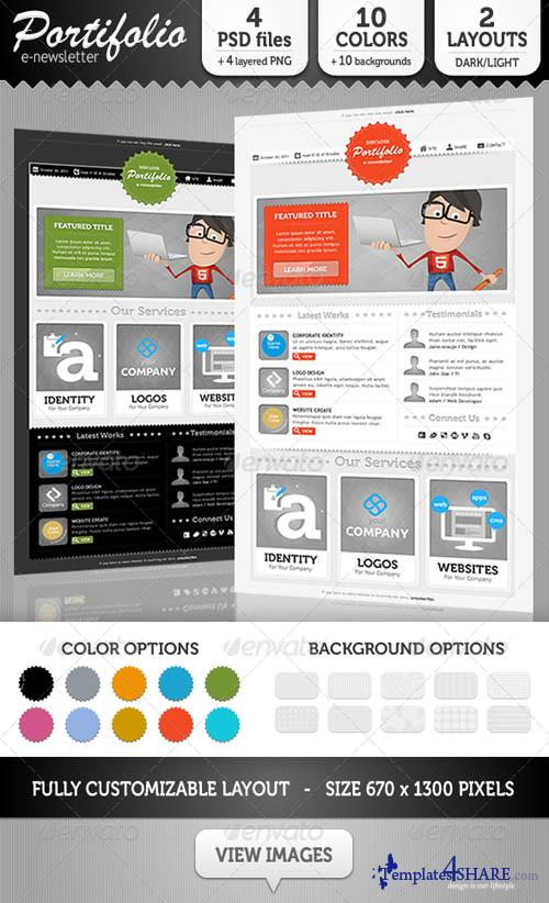 GraphicRiver Portifolio E-Newsletter Template