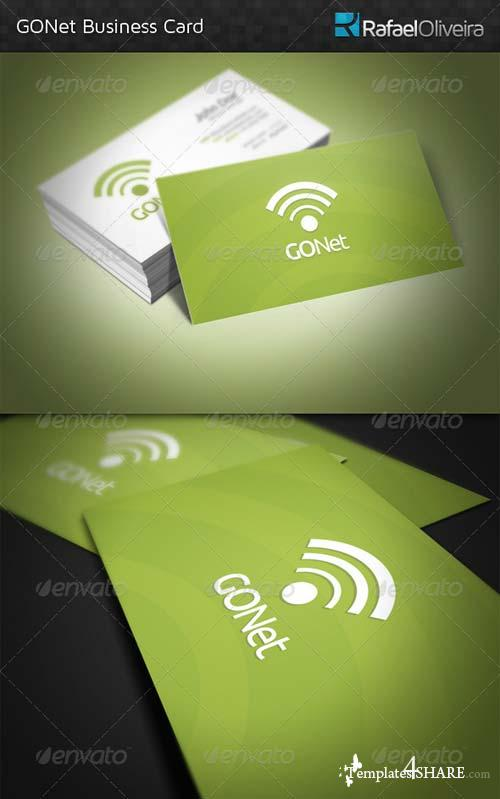 GraphicRiver GONet Business Card