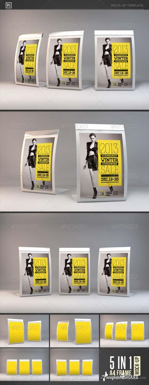GraphicRiver Photorealistic Counter Top Display Mock-Ups