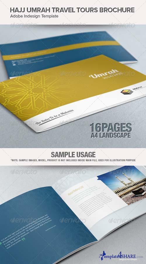 GraphicRiver Hajj Umrah Travel Tours Brochure