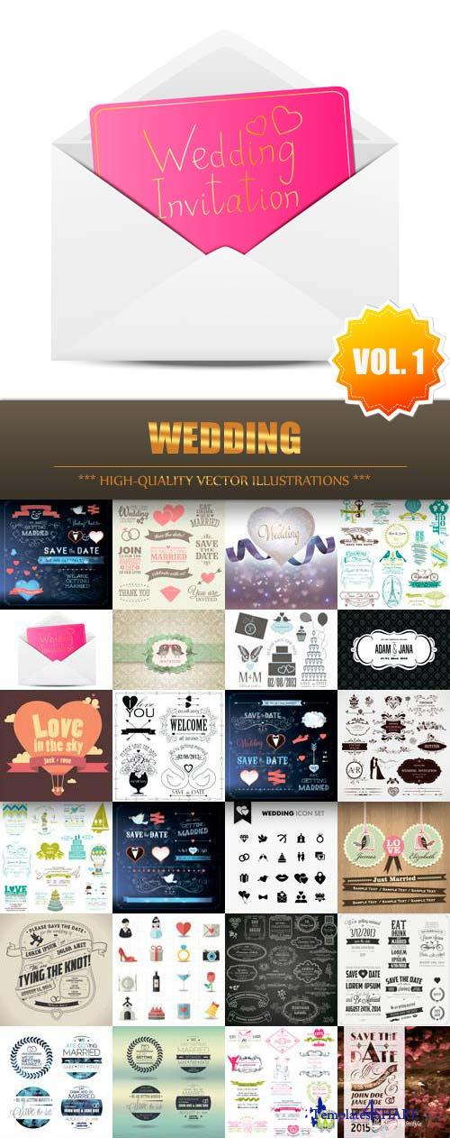 Wedding Vector Collection (Vol.1)