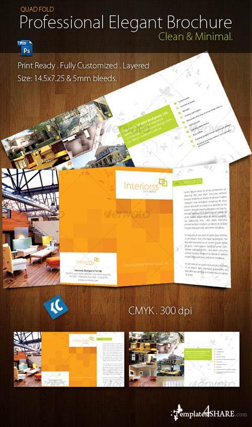 GraphicRiver Quad-Fold Brochure
