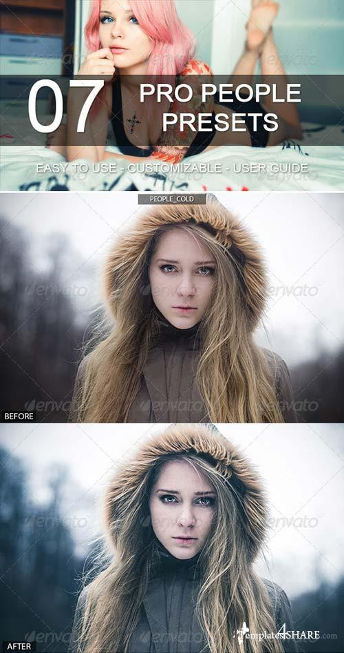 GraphicRiver 7 Pro People Presets