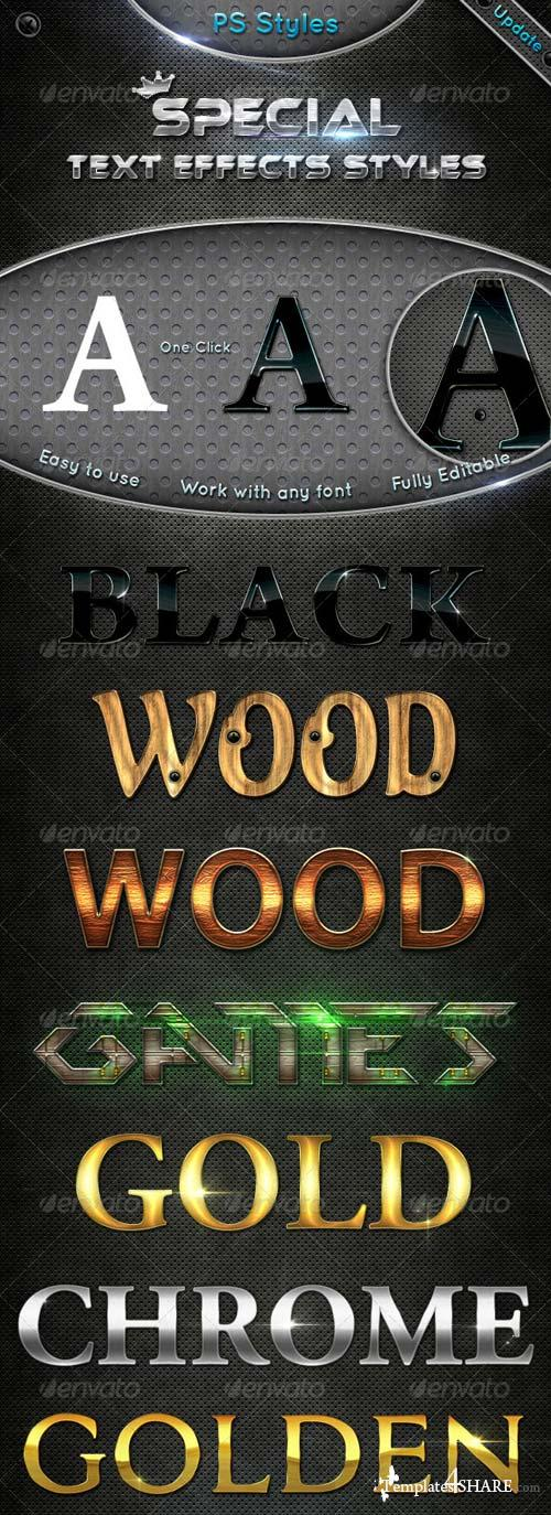 GraphicRiver Special Text Effects Styles