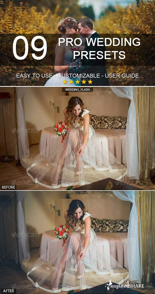GraphicRiver 9 Pro Wedding Presets