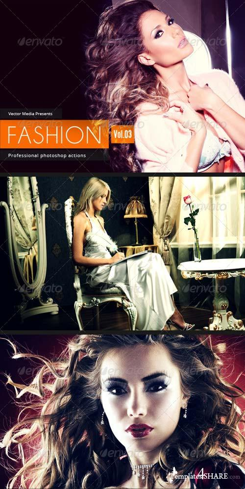 GraphicRiver Fashion - Photoshop Actions [Vol.3]