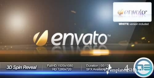 3D Spin Reveal - After Effects Project (Videohive)