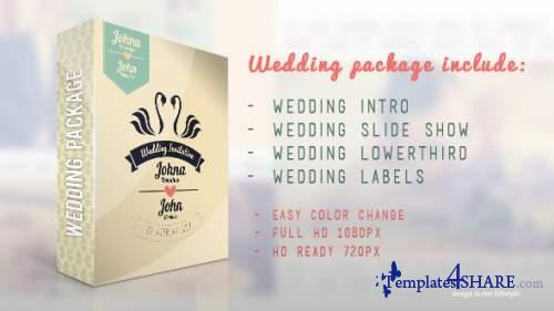 Wedding Package - After Effects Project (Videohive)