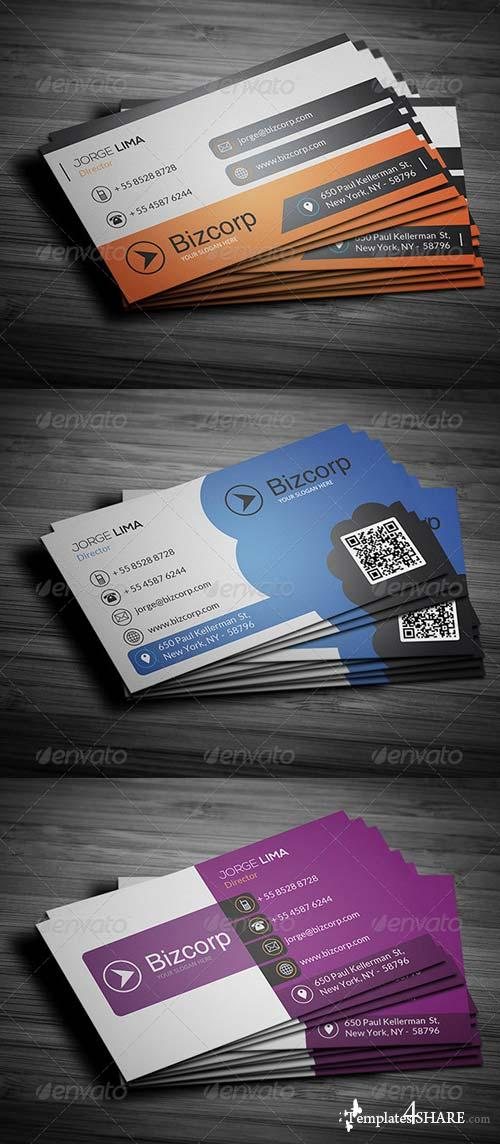 GraphicRiver Corporate Business Cards Bundle Vol 51