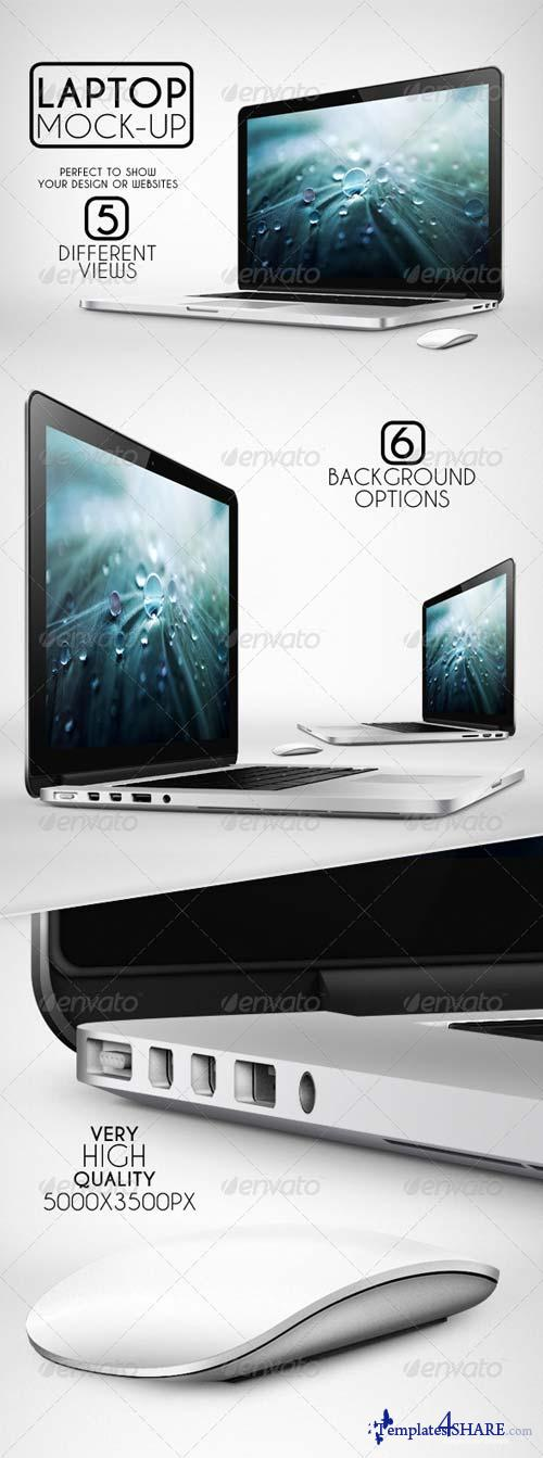 GraphicRiver Laptop Mock-Up