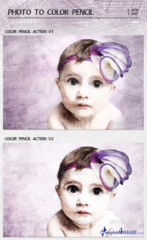 GraphicRiver Photo to Color Pencil