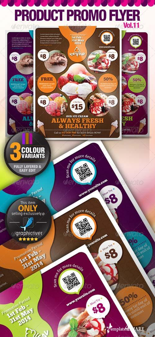 GraphicRiver Multi-Purpose Product Promotion Flyer Vol.11