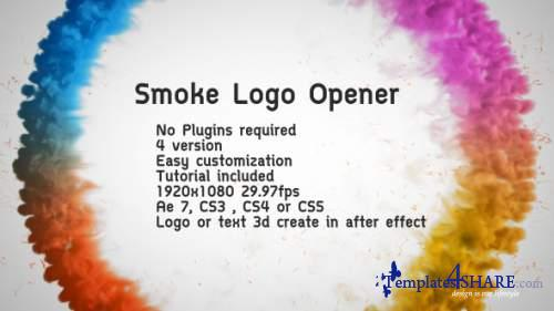 Smoke Logo Opener - After Effects Project (Videohive)