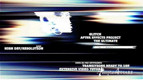 The Ultimate Glitch + 70 Presets Pack - After Effects Presets (Videohive)