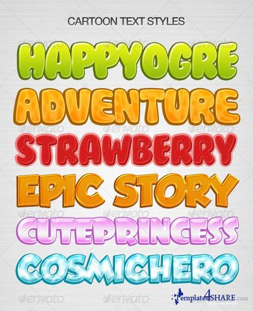 GraphicRiver Kids Text Layer Style