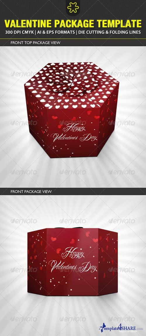 GraphicRiver Valentine Package Template