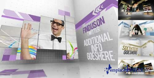 Creative Video Wall Presentation - After Effects Project (Videohive)