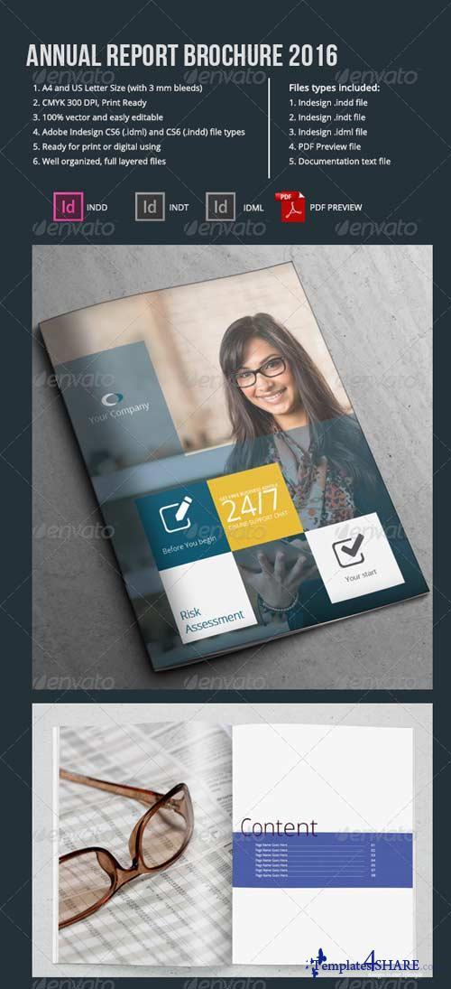 GraphicRiver Annual Report Brochure 2016